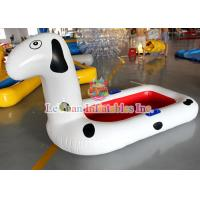 China Spotty Dog Inflatable Water Toys With Printing Company Name PVC Tarpaulin on sale