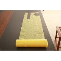 Disposable PE Apron On A Roll Polythene Yellow Economy Food Serving Aprons Manufactures