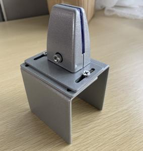Alu Alloy Desk Screen Glass 136mm Desk Partition Clamps Manufactures