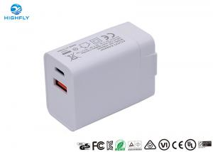 PD QC3.0 Charging Quick Dual USB 18W Universal Travel Charger Manufactures