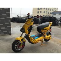 High Power Battery Operated Electric Scooter Motorcycle For Adults 45 - 50km/H Manufactures
