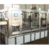 SUS304 Material Water Bottle Filler Machine , 8000 Bottles Per Hour Water Filling Equipment