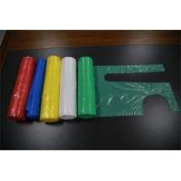 Multi Colored Disposable Plastic Smocks PE Aprons Flat Packed For Protect Clothes Manufactures