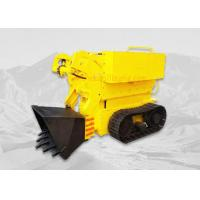 Single Bucket Small Crawler Rock Loader High Performance For Underground Mining Manufactures