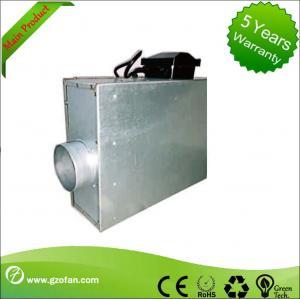 Sheet Steel Silent Inline Fan / Silent Inline Extractor Fan For Air Flow Manufactures