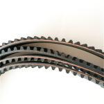 Power transmission belt  genuine auto spare parts engine belt oem T0663544/148MR25 Renault Jeep car belt ramelman belts Manufactures