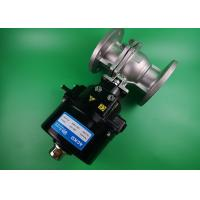 High Temperature  Electric Ball Valve Replacement  2 Way Carbon Steel Manufactures