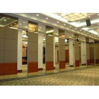 Aluminium Sliding Track Roller Multi Color Office Acoustic Conference Hall Wooden Partition Walls Manufactures