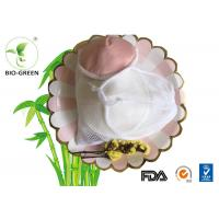 Thin Bamboo Washable Breastfeeding Pads , Comfortable Bamboo Reusable Breast Pads Manufactures