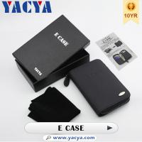 Leather E Case Electronic Cigarette Accessories For Spinner 1/2 Battery Manufactures