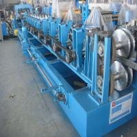 Z Purlin Roll Forming Machine with Cr Bearing Steel 16 Groups Roller Station