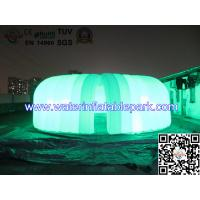 Colorful Fences Marquee Inflatable Lighting Tent  8m x 7m CE / UL / SGS Manufactures