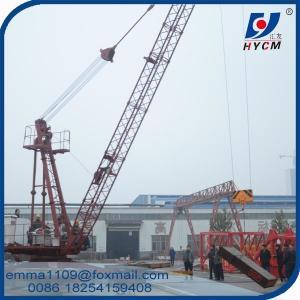 Cheap 8000 kg Derrick Crane 1840 Models Fixed Roof Floor Lifting Material for sale