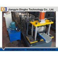 Customized Half Round Gutter Roll Forming Machine For Making Rainwater Gutter Manufactures