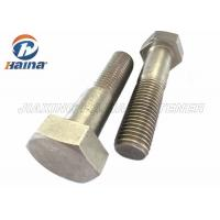 Stainless Steel Bolts DIN931 SS304  SS316 M6-M64 Hex Head Bolts Manufactures