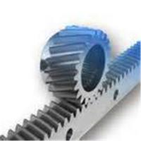 Industrial Transmission Parts Steel Spur Gear Helical Rack Long Straight Bar Manufactures