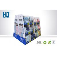 Strong Bearing Capacity Cardboard Display Stands For T - Shirt / Children Clothes Manufactures