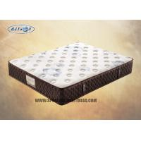 China Comfortable King Size Memory Foam Pocket Spring Mattress With Elegant Knitted Fabric on sale