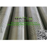 water and oil well drilling perforated casing/perforated pipe expert with API standard Manufactures