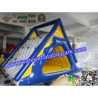 Float Water Park Games Inflatable Floating SlideAnd Climb For Adults Manufactures