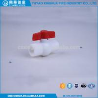 Light Weight PPR Ball Valve , Pvc Pipe Fittings Convenient Installation Manufactures