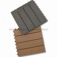 Wpc Decking Tile, Anti-UV Agent, Low Maintainance Manufactures