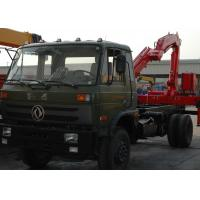 High Efficiency 5 Ton Light Truck Loader Crane , Knuckle Cargo Crane Truck Manufactures