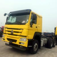 China Customized Tractor Trailer Truck 6x4 Right Hand Drive 91km/H Max Speed on sale