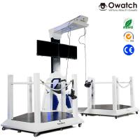 VR Walking space platform 9d virtual shooting simulator for double players Manufactures