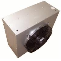 Hot water Steam air axial fan motor Hanging hydronic unit heaters with copper tube aliminium finned coils Manufactures
