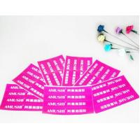 Printable Self Adhesive Sticky Labels , Professional Custom Label Stickers Manufactures