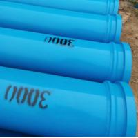 3M Length Concrete Delivery  Pipes , Concrete Pump Tube 4.5MM Thickness