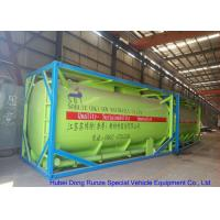 Fluoboric Acid Transport Tank Container 20FT , ISO Bulk Container For Shipping