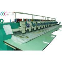 15 Heads Single Sequin Computerized Flatbed Embroidery Machine For Clothing Robes Manufactures