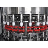 Stainless Steel Hot Filling Machine 3-in-1 Monoblock For 500ml Plastic Bottles Manufactures