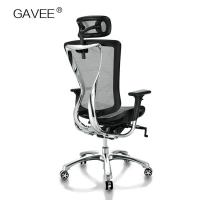 3D Armrest Ergonomic Work Chair , Double Spring Adjustable Mesh Office Chair Manufactures