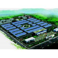 China Multi Story Steel Structure Warehouse , ASTM A36 A572 Steel Construction Buildings on sale