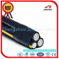 China Polyethylene Insulation Triplex Electrical Wire , AAAC Overhead Service Conductors on sale