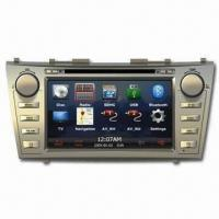 GPS Car Navigation System with In-dash DVD Player for Toyota, Supports 18FM/12AM Preset Manufactures