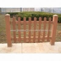WPC Outdoor Fence, Available in Various Colors, Eco-friendly Manufactures