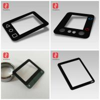 """custom OEM 0.55mm 0.7mm 1.1mm tempered  glass cover lens with silk screen printed for 10.1"""" Rugged Industrial Tablet PC Manufactures"""