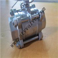 China 1.5 inch gas threaded ball valve on sale