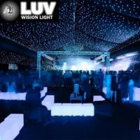 LUV-LHC-Y Customize size White horizon DMX LED star cloth light curtain Manufactures