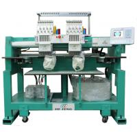 Two Heads Cap Embroidery Machine , 110V / 220V With Servo Motor Manufactures