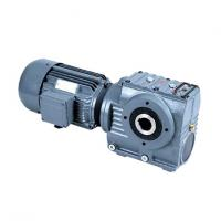 Flange Mounted Hydraulic Helical Worm Gear Reducer With Electric Motor Manufactures