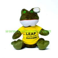 """Buy cheap 7"""" Plush Frog from wholesalers"""