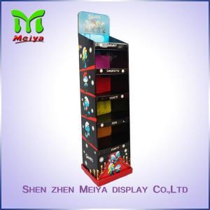 Table Top Cosmetic Retail Printing Colorful Logo Of Cardboard Counter Display Cosmetic Cardboard DisplaTable Top Cosmet