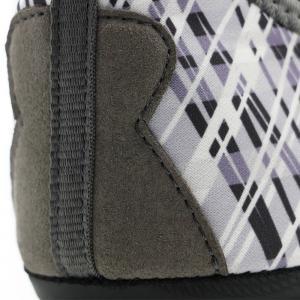 Grey Faux Winter Fur Shoes Neoprene Upper Anti - Slip Sole 34 - 46 Size Manufactures