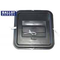 Cheap 55L Large Container Plastic Ballot Box 3mm Thickness Resistance 100% Polyropylene for sale
