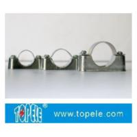 BS4568 / BS31 Steel Conduit Fittings Carbon Steel Spacer Bar Saddle With Base Manufactures